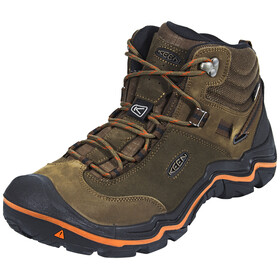 Keen Wanderer Mid WP Shoes Men Cascade Brown/Bossa Nova